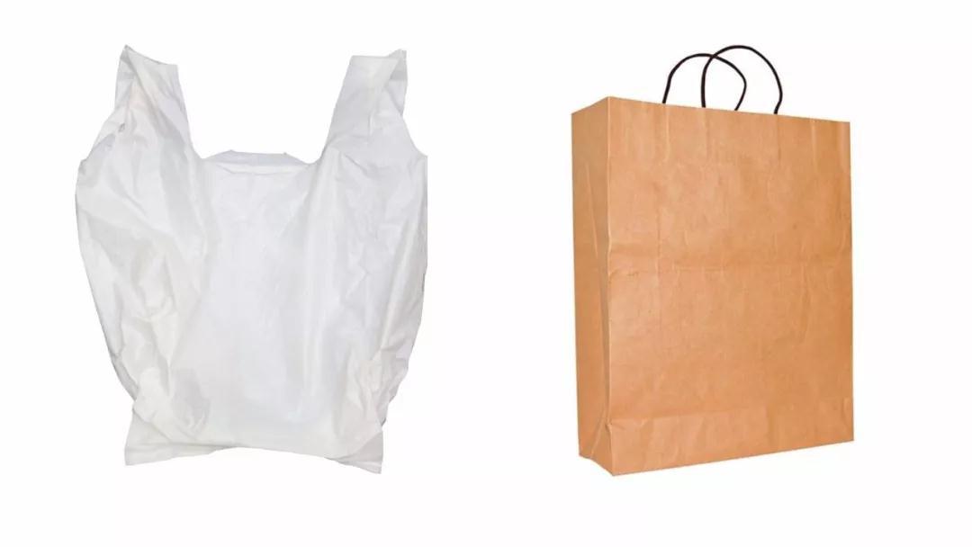 塑料袋其实比纸袋更环保是真的吗?