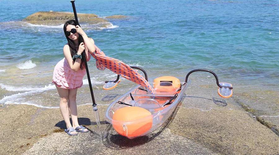 全新的划船体验——PC透明游船