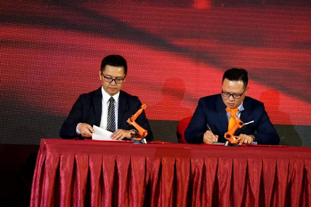 庫卡(KUKA)機器人與信易集團簽屬合作協議