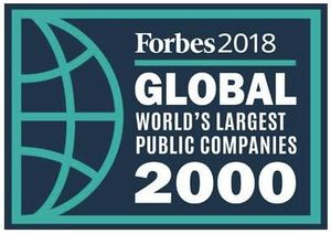 全球上市公司2000强:60家化工企业上榜