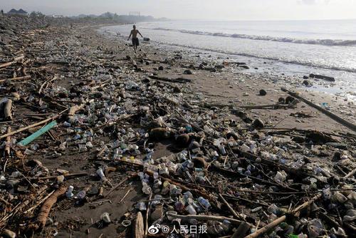 """塑料污染多严重?全球人均每周""""吃下""""一张信用卡"""