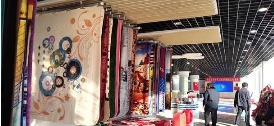 旧塑料变新地毯 滨州龙福用科技让废品实现大变身
