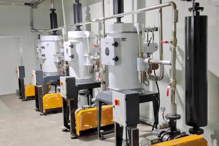 信易集团:中央原料处理系统案例-三层绝缘线生产