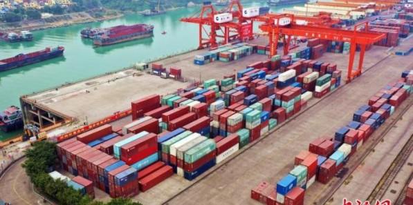 2021年上半年中美双边货物贸易总值同比增长34.6%